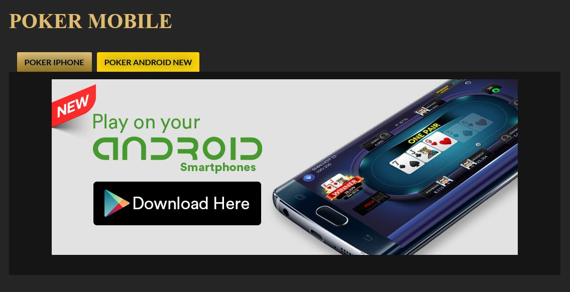 Download Pokerplace88 Android