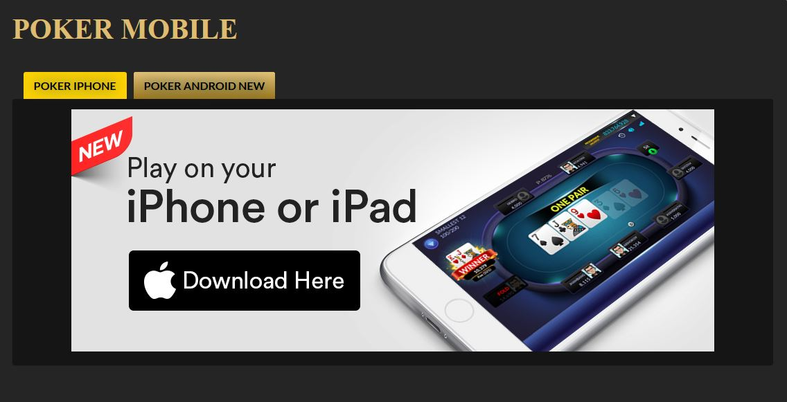 Download Pokerplace88 iPhone